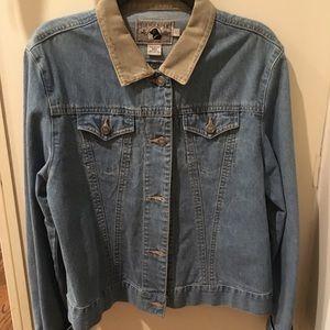 Black Dog Jean jacket ladies L